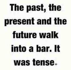 It was tense.