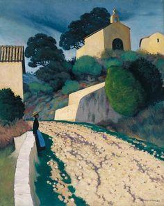 Road at St Paul (Var)(Felix Vallotton).
