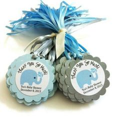 Elephant Favor Tags for Baby Boy Shower Party in Blue Personalized Elephant Favor Tags for Baby Boy Shower Party in Blue Juegos Baby Shower Niño, Distintivos Baby Shower, Regalo Baby Shower, Baby Shower Favors, Baby Shower Parties, Baby Shower Themes, Baby Shower Invitations, Shower Party, Shower Ideas
