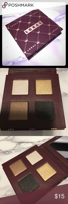 Lorac Quad palette Brand new never swatched. Authentic and discontinued. lorac Makeup Eyeshadow