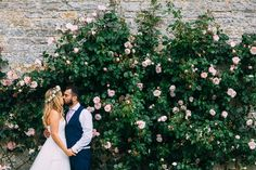 Bride & Groom Portrait | Albert Palmer Photography | Blush Wedding at Almonry Barn Somerset