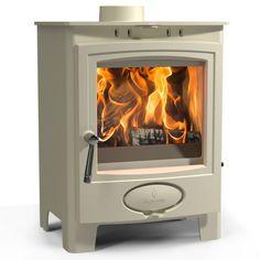 Aarrow Ecoburn 5 Plus Devon Cream Multi Fuel / Wood Burning Stove