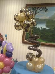 centros de mesa baby shower con globos - Buscar con Google