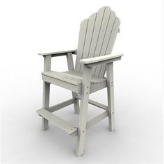 The Adirondack Bar Chair is manufactured using the highest quality products while utilizing the finest eco-friendly materials available. Malibu Outdoor Living poly-board outdoor furniture line is manufactured from recycled dairy and detergent bottles. Great for dining in comfort with your family and friends, built to last a lifetime of enjoyment.