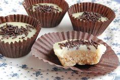 """Bombones de chocolate blanco y galleta :: """"Thermo y mis recetas"""""""