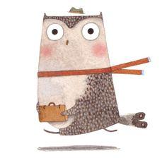 2012 calendar roundup #5: My Owl Barn via @pikaland