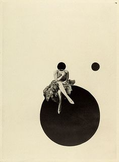"""The Olly and Dolly Sisters"" de László Moholy-Nagy - fotógrafo e pintor da Hungria, instrutor na escola de Bauhaus, Dolly Sisters, Photomontage, Illustrations, Illustration Art, Laszlo Moholy Nagy, Plakat Design, Getty Museum, Grafik Design, Collage Art"
