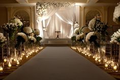 SOCO EVENTS: Floral aisle, orchid huppah..amazing. #RealWedding
