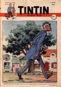 Journal de TINTIN édition Française N° 24 du 7 Avril 1949