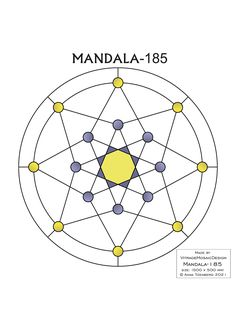 MANDALA-185 Stained glass pattern, Mosaic pattern, Painting glass pattern, to DOWNLOAD PDF, Suncatcher, Window panel, Window handing ויטראז by VitrageMosaicDesign on Etsy