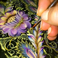 Flower Miniature #2 (Blue Series) by Anna Bucciarelli, via Behance