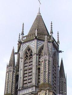 gothic architecture | St. Paul's Parish Church, Brighton, by Richard Cromwell Carpenter ...