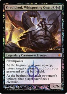 Magic The Gathering - Sheoldred, Whispering One - Prerelease & Release Promos - Foil Writing Fantasy, Fantasy Books, Mtg Altered Art, Mtg Decks, Nerd Art, Legendary Creature, Magic The Gathering Cards, Magic Cards, Wizards Of The Coast