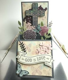 Stampin' Up Hold On To Hope Thought I would try my hand at a Card in a Box