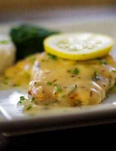 Chicken in a Lemon Butter Sauce | carriesexperimentalkitchen.com