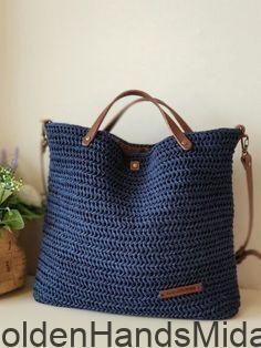 Crochet Motif, Knit Crochet, Crochet Patterns, Handmade Handbags, Handmade Bags, Crochet Crafts, Crochet Projects, Knitting Yarn, Hand Knitting