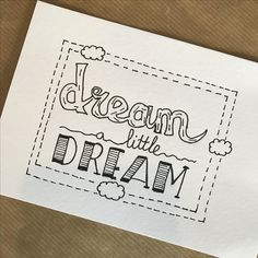 Dream a Little Dream~