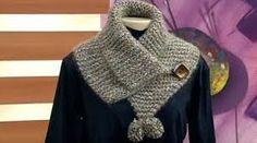 Receitas de trico fáceis de fazer e com passo a passo e video explicativo Yarn Projects, Cache Cou, Knit Cowl, Knit Crochet, Neck Warmer, Baby Girl Shoes, Macrame, Wool, Stitch