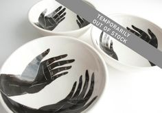 Grasp (Porcelain Bowls) set of 3