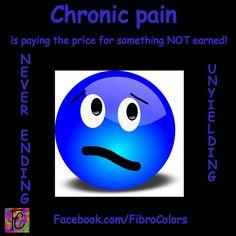chronic pain...