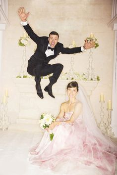 This picture is so adorable it helps me get over that JT is married now.  Jessica Biel and JustinTimberlake