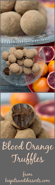 Blood orange truffles are my new favorite dessert! Homemade candy is seriously the best!!!