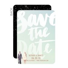 Bold Date Save The Dates