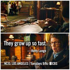 Hetty Lange. NCIS: Los Angeles.