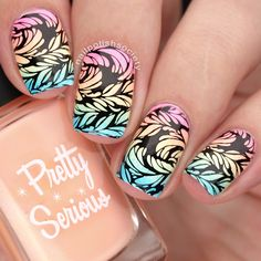Guest Post: Stamping Nail Art from Emiline aka Nail Polish Society   Lucy's Stash   Bloglovin'