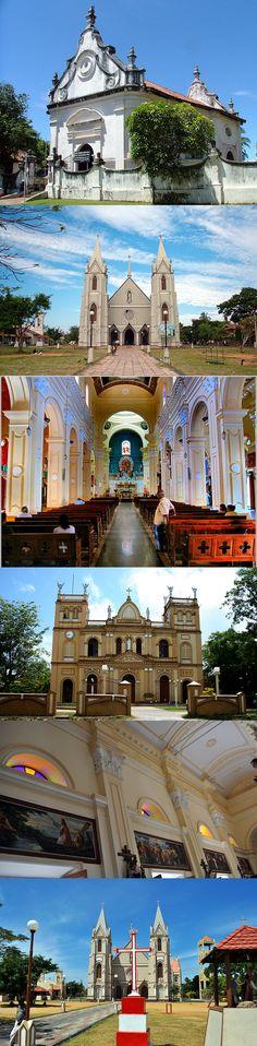Churches in Negombo, Sri Lanka #SriLanka #Negombo #Churches