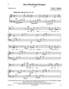 Poor Wayfaring Stranger (SATB) by Victor Jo | J.W. Pepper Sheet Music