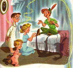 "Disney Publishing Worldwide Unveils ""Peter Pan,"" the First In a Series of Disney Classics Storybook Apps Film Disney, Disney Art, Disney Pixar, Disney Characters, Disney Villains, Book Characters, Disney Peter Pan, Peter Pan And Tinkerbell, Disney Dream"