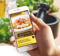 Grand'Italia laat iedereen de creativiteit in zichzelf ontdekken met een gloednieuw keukenhulpje. Heb jij de app al gedownload?