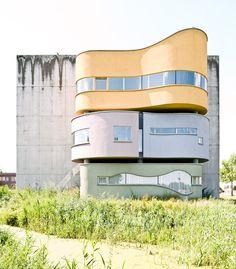John Heyduk, Wall House, Groningen, Netherlands. Photo by Samuel Ludwig
