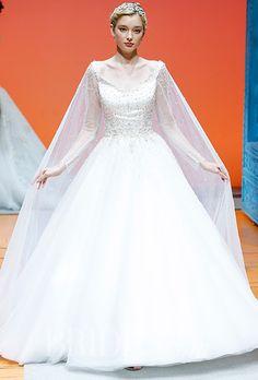Brides: Disney Fairy Tale Weddings by Alfred Angelo Wedding Dresses - Fall 2016 - Bridal Runway Shows - Brides.com