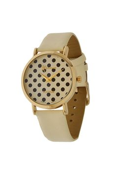PROMPT POLKA DOT Black Ivory Gold Watch Shop Simply Me Boutique – Simply Me Boutique