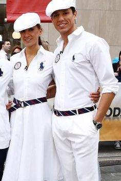 528b5d3b Olympics Closing Ceremony by way of Ralph Lauren 20s Fashion, Golf Fashion,  Preppy Girl