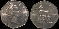 50p Living In England, Coins, Childhood, British, Infancy, Rooms, Childhood Memories