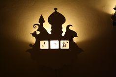 """Volafitta"" - Hand cut wooden wall lights."