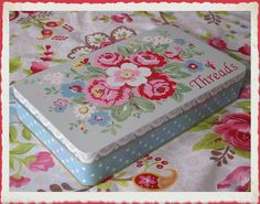 Cath kidston tin of threads
