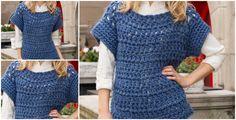 How To Crochet Horizontal Sweater