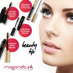 Wir verraten den Trick der Star-Visagisten für einen zauberhaften Wimpernaufschlag: Tusche die unteren Wimpern mit brauner und die oberen Wimpern mit schwarzer Mascara. So wirken deine Augen offener und grösser. #AugenMakeup #eyemakeup #mascara #magando #BeautyTip www.facebook.com/Magando.ch