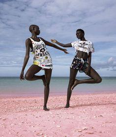 Adidas x Pharrell Pink Beach