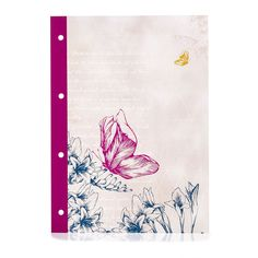 I've seen a few of these cute A4 refill notebooks recently - wish these had been around while I was studying. Trying to work out if I have a use for them now.  Wilko Botanica A4 Refill Pad