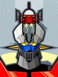 Mazinger Z by Salvador Anguiano, via Behance *