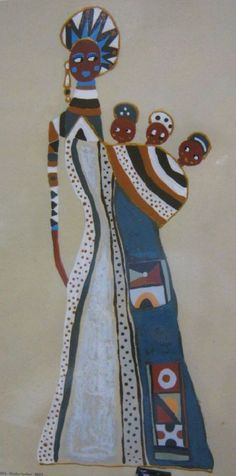 Porcelain And China Refferal: 7874329172 African Art Paintings, African Artwork, Afrique Art, African Theme, Masks Art, African American Art, African Culture, African Design, Art Plastique