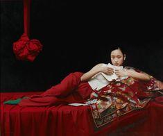 Artes Visuales. Encuentro de Sensibilidades. Lina Jatón Liu Yuanshou, 1967. Nació en Beijing, Beijing Artists Association, miembro d...
