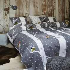 Flannel Duvet Cover, Winter Bedroom, Snowy Forest, Duvet Cover Sets, Comforters, Comfy, Blanket, Pillows, Interior