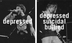 depression suicidal anxiety all time low Kellin Quinn sleeping with sirens pierce the veil self harm frank lero Asking Alexandria bullied vic fuentes mikey way austin carlile Alex Gaskarth Andy Biersack bipolar of mice and men Danny Worsnop suicide silence mitch lucker Chester Bennington of mice & men panic attack social anxiety blackveilbrides Broken Family O.C.D A.D.D. heart condition
