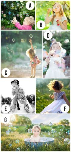 Bubbles could add an interesting visual element by giving kids something to chase, jump, twirl at!